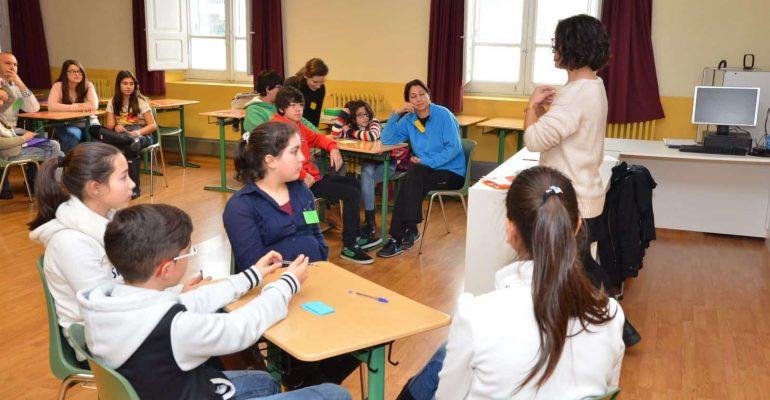 Voluntarios ESO y profesores