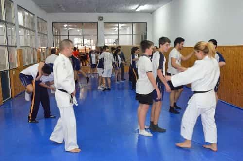 Alumnos clase práctica