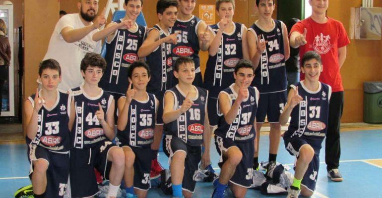 Bosco infantil campeón Galicia 2915